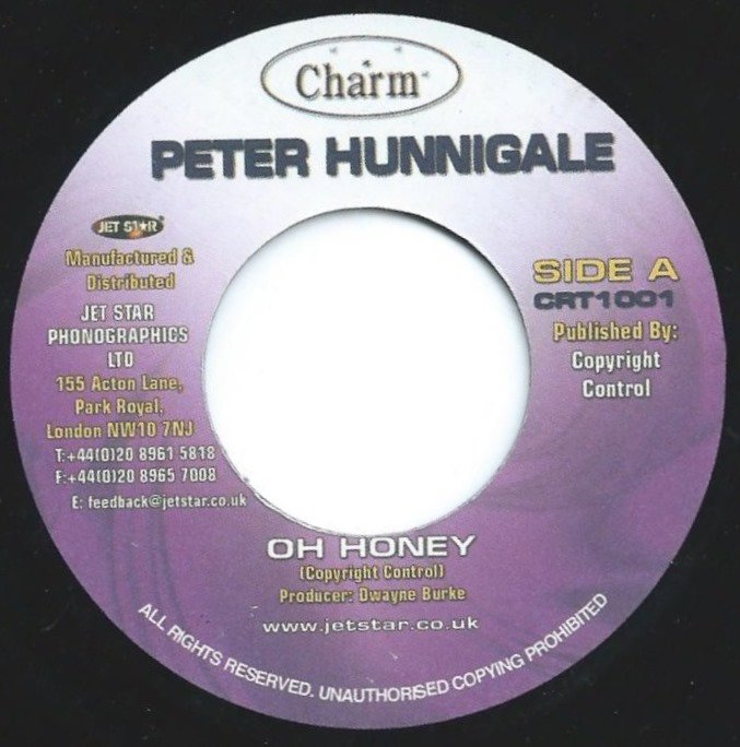 PETER HUNNIGALE / OH HONEY (7