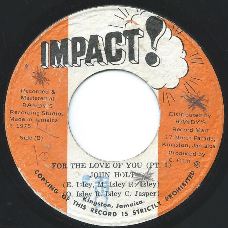 JOHN HOLT / FOR THE LOVE OF YOU (7