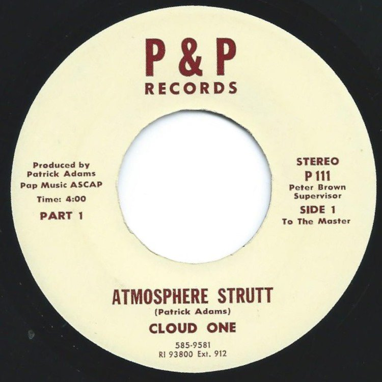 CLOUD ONE ‎/ ATMOSPHERE STRUTT (PROD BY PATRICK ADAMS) (7