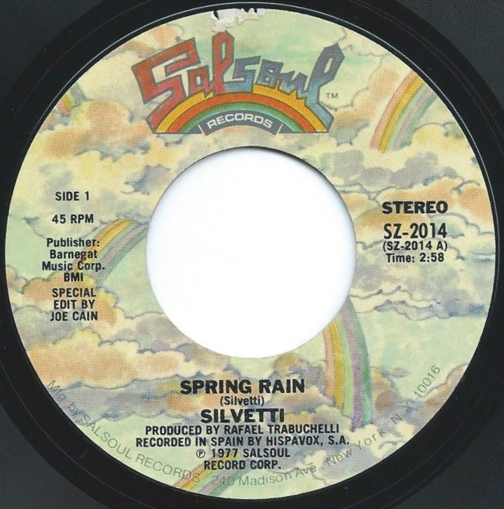 SILVETTI / SPRING RAIN / TRAVEL CHECK (7