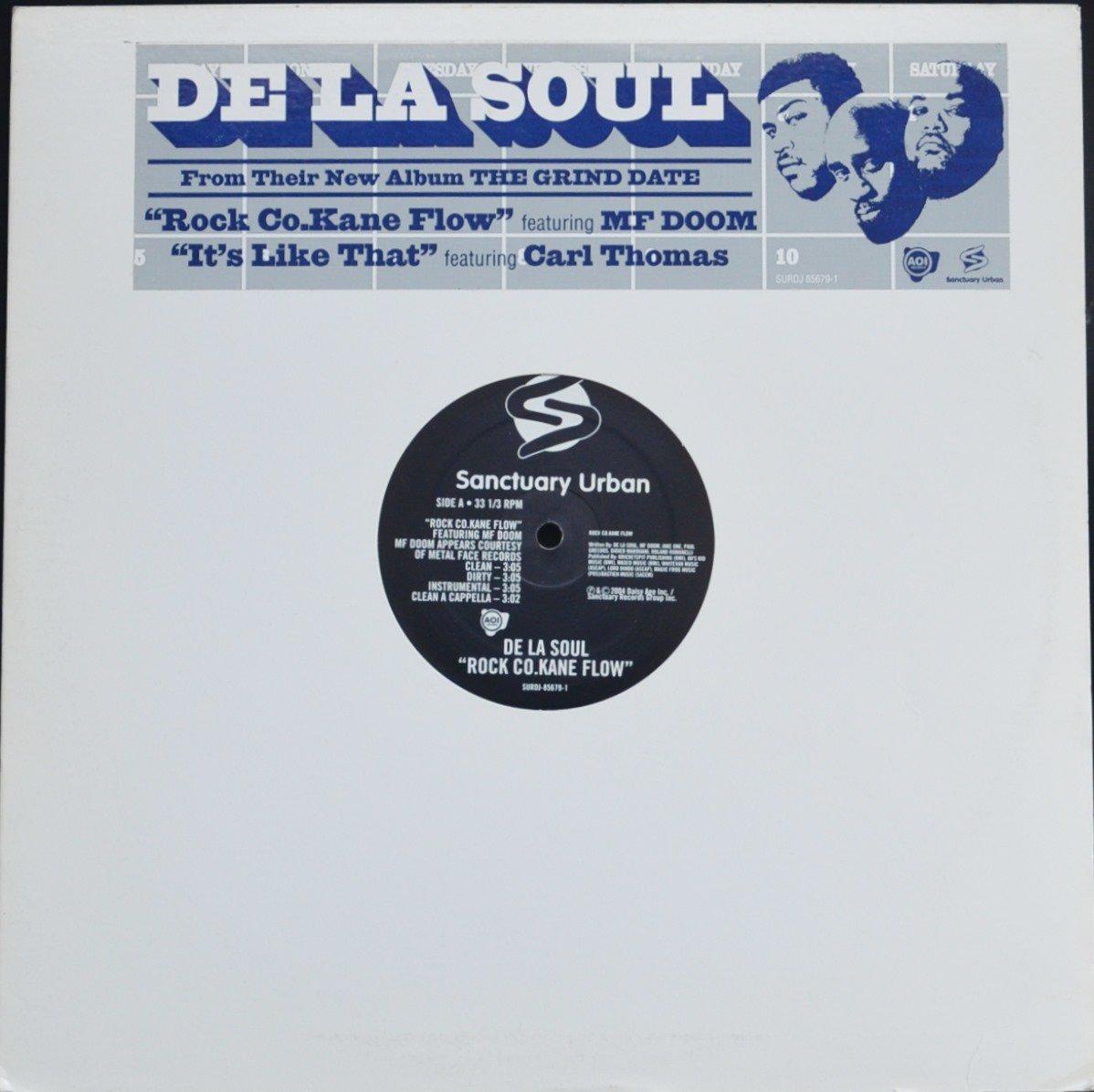 DE LA SOUL / ROCK CO.KANE FLOW (FEAT.MF DOOM) / IT'S LIKE THAT (12