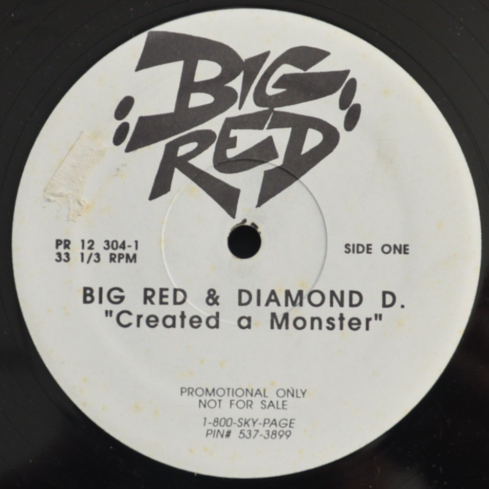 BIG RED & DIAMOND D ‎/ CREATED A MONSTER / HOW THEY WANT IT (12