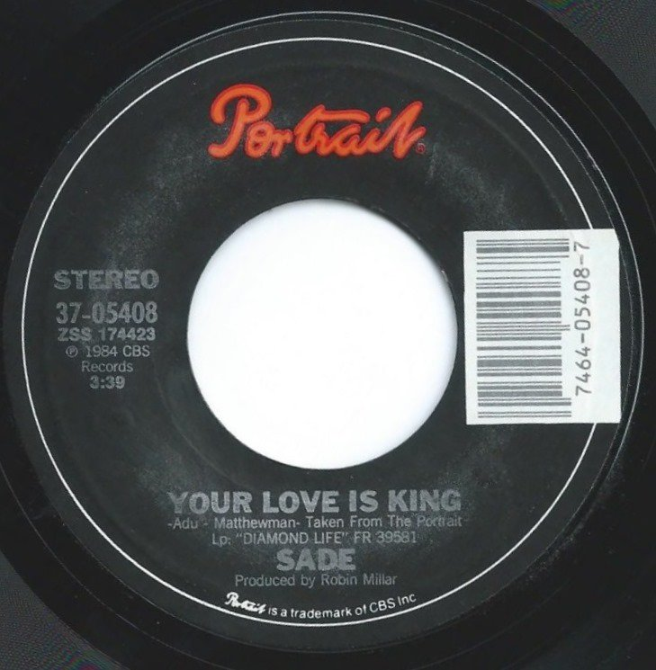 SADE / YOUR LOVE IS KING / LOVE AFFAIR WITH LIFE (7