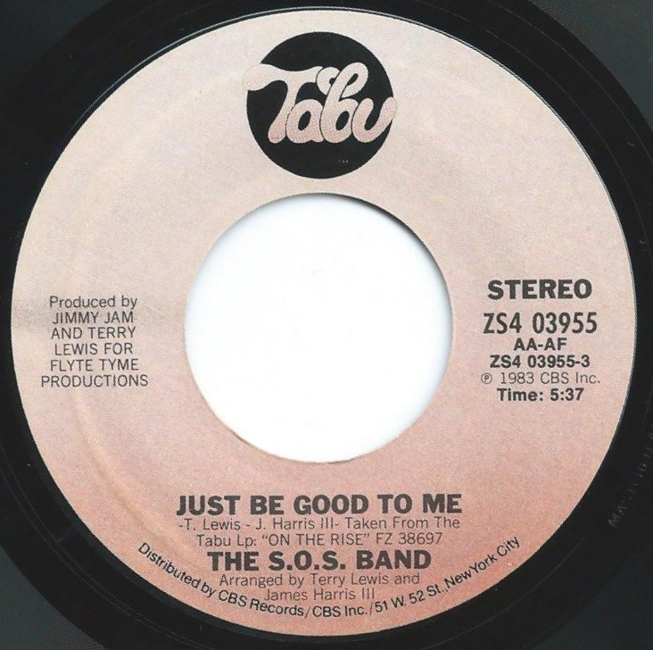 THE S.O.S. BAND / JUST BE GOOD TO ME (7