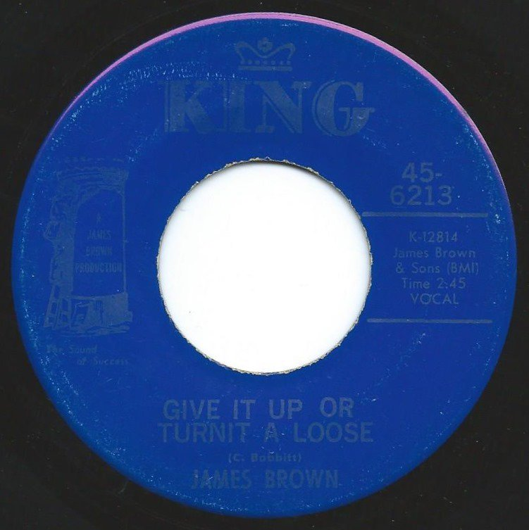 JAMES BROWN / GIVE IT UP OR TURNIT A LOOSE / I'LL LOSE MY MIND (7