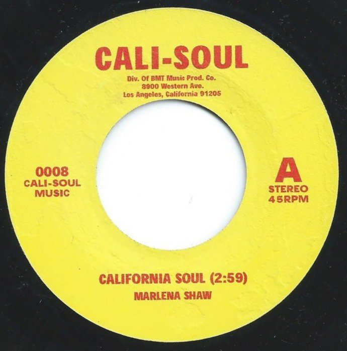 MARLENA SHAW / MIKE JAMES KIRKLAND ‎/ CALIFORNIA SOUL / HANG ON IN THERE (7