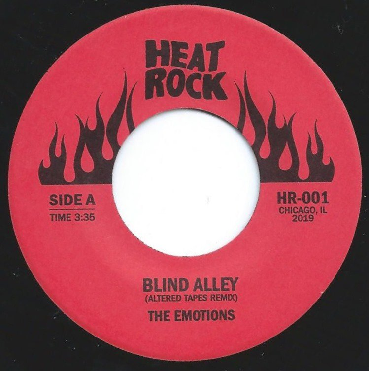 THE EMOTIONS / BIG DADDY KANE / BLIND ALLEY (ALTERED TAPES REMIX) / AIN'T NO HALF STEPPIN' (7