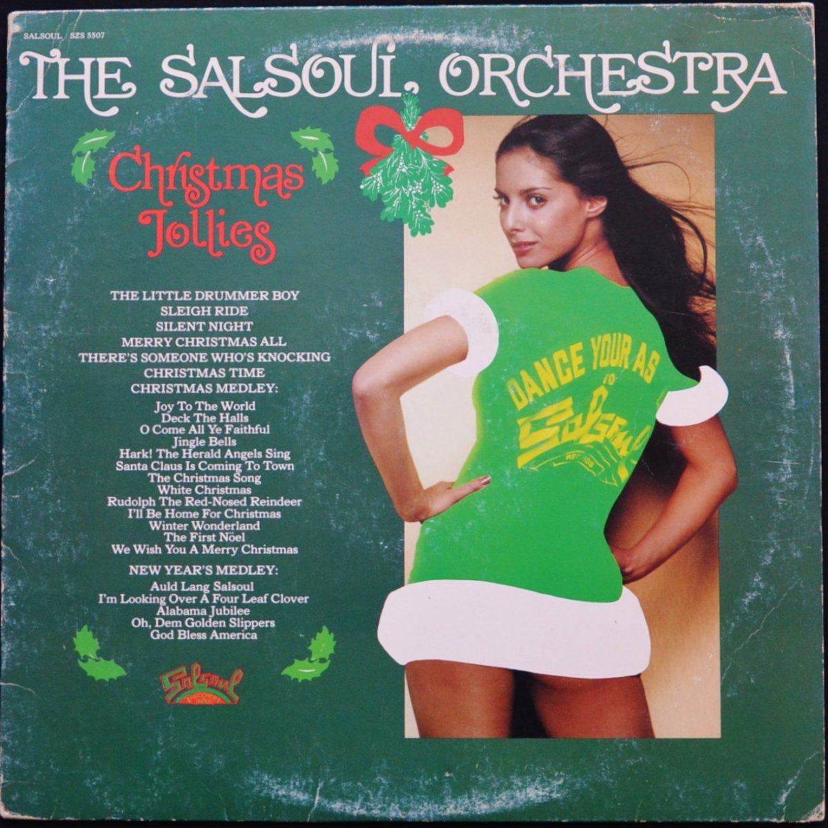 THE SALSOUL ORCHESTRA / CHRISTMAS JOLLIES (LP)