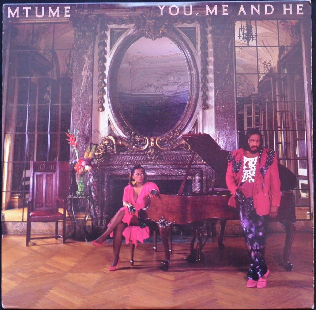 MTUME ‎/ YOU, ME AND HE (LP)
