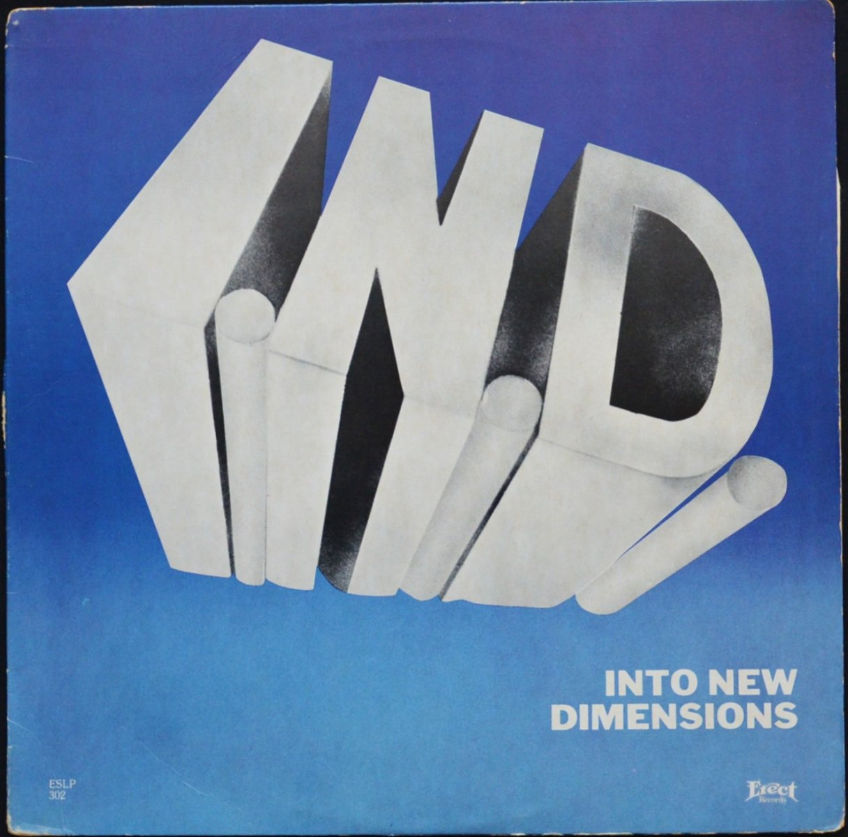 I.N.D. / INTO NEW DIMENSIONS (LP)