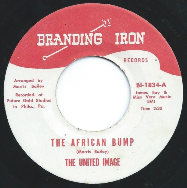 THE UNITED IMAGE ‎/ THE AFRICAN BUMP / HIT MAN (7