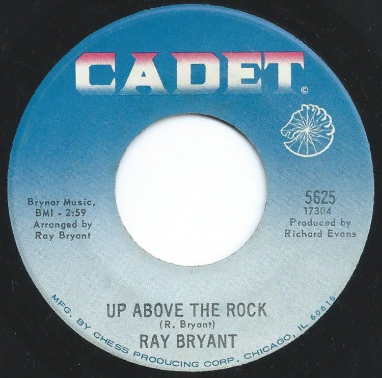 RAY BRYANT ‎/ UP ABOVE THE ROCK / LITTLE GREEN APPLES (7