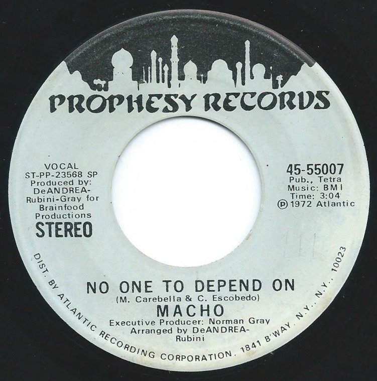 MACHO / NO ONE TO DEPEND ON (7