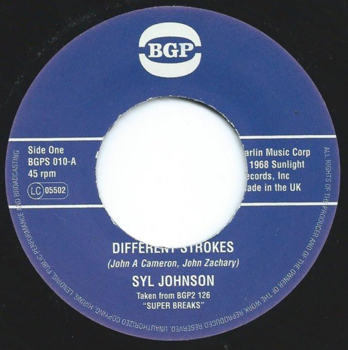 SYL JOHNSON / DIFFERENT STROKES / IS IT BECAUSE I'M BLACK (7