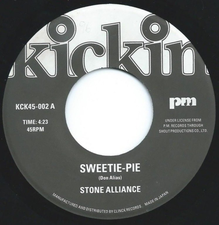 STONE ALLIANCE / STEVE GROSSMAN / SWEETIE-PIE / ENYA (7