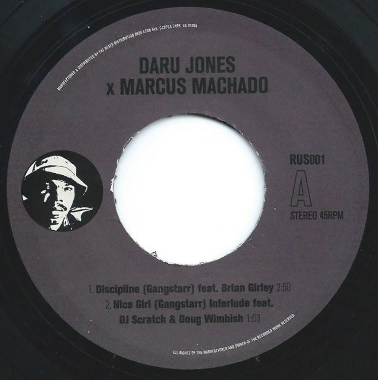 DARU JONES X MARCUS MACHADO ‎/ DISCIPLINE (7