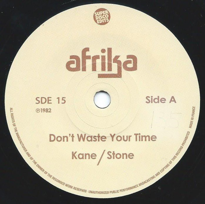AFRIKA / DON'T WASTE YOUR TIME / IN MY ARMS (7