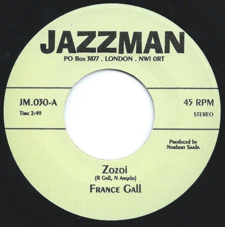 FRANCE GALL / IRP-3 / ZOZOI / TEMA DE SONINHA (7