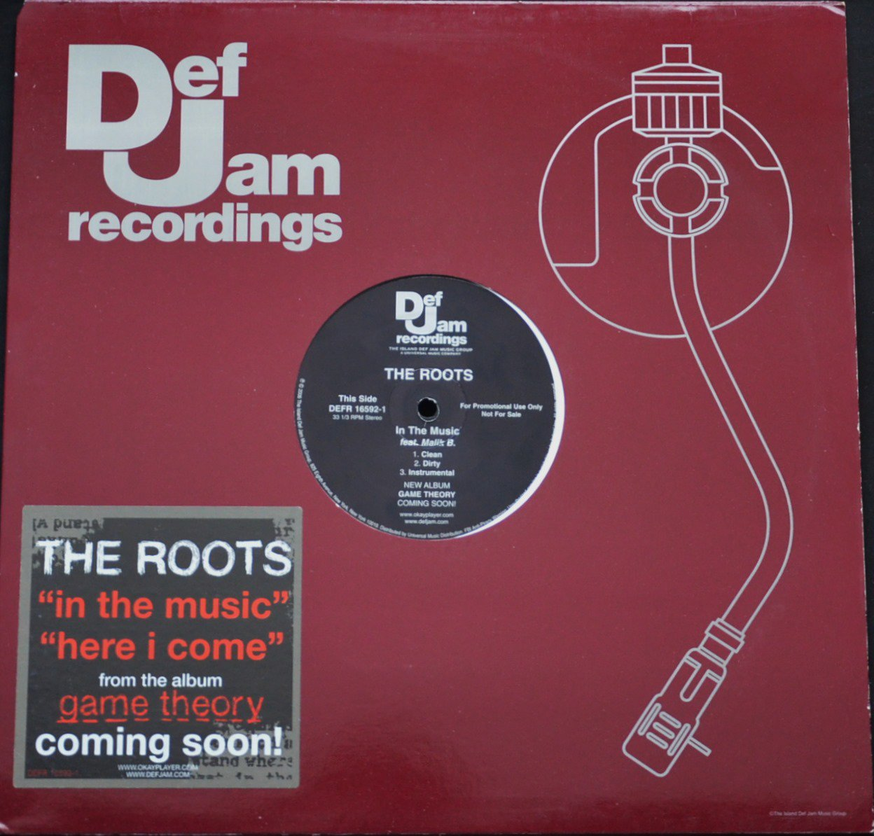 THE ROOTS ‎/ IN THE MUSIC / HERE I COME (12