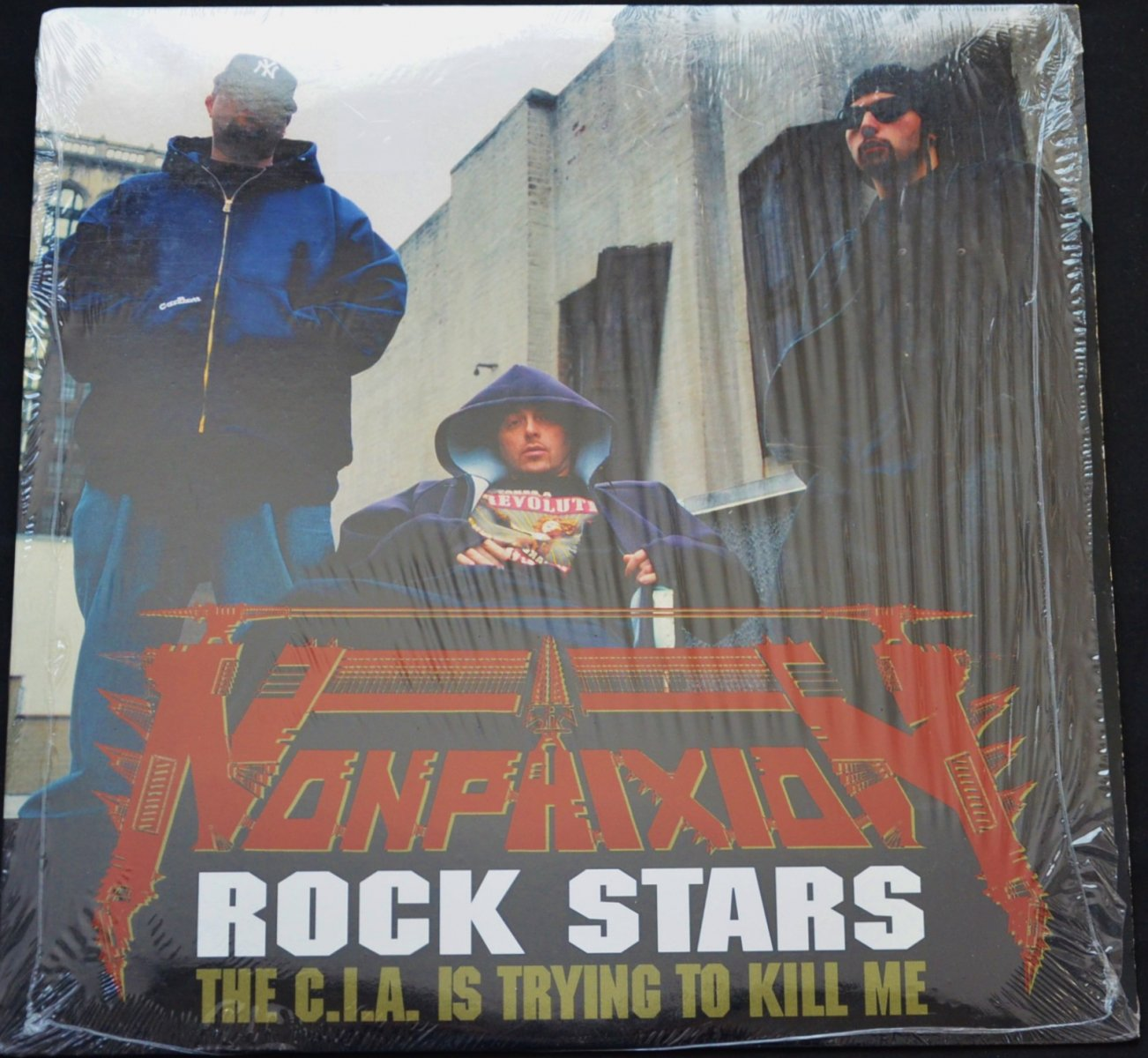 NON PHIXION / ROCK STARS (PROD BY.DJ PREMIER) / THE C.I.A. IS TRYING TO KILL ME (12