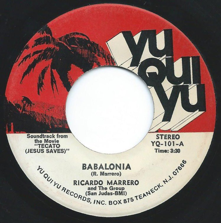 RICARDO MARRERO AND THE GROUP / BABALONIA / MY FRIEND (7