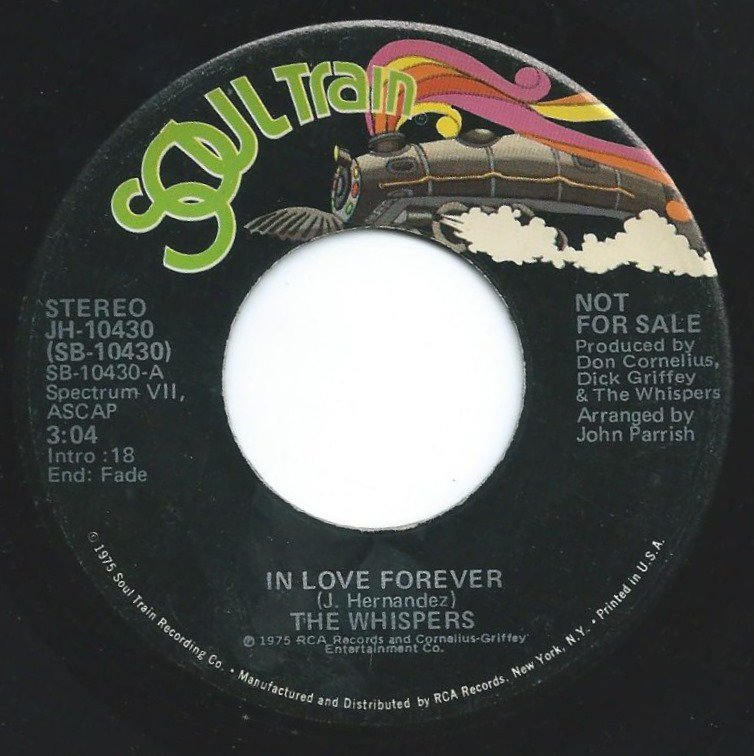THE WHISPERS / IN LOVE FOREVER (7