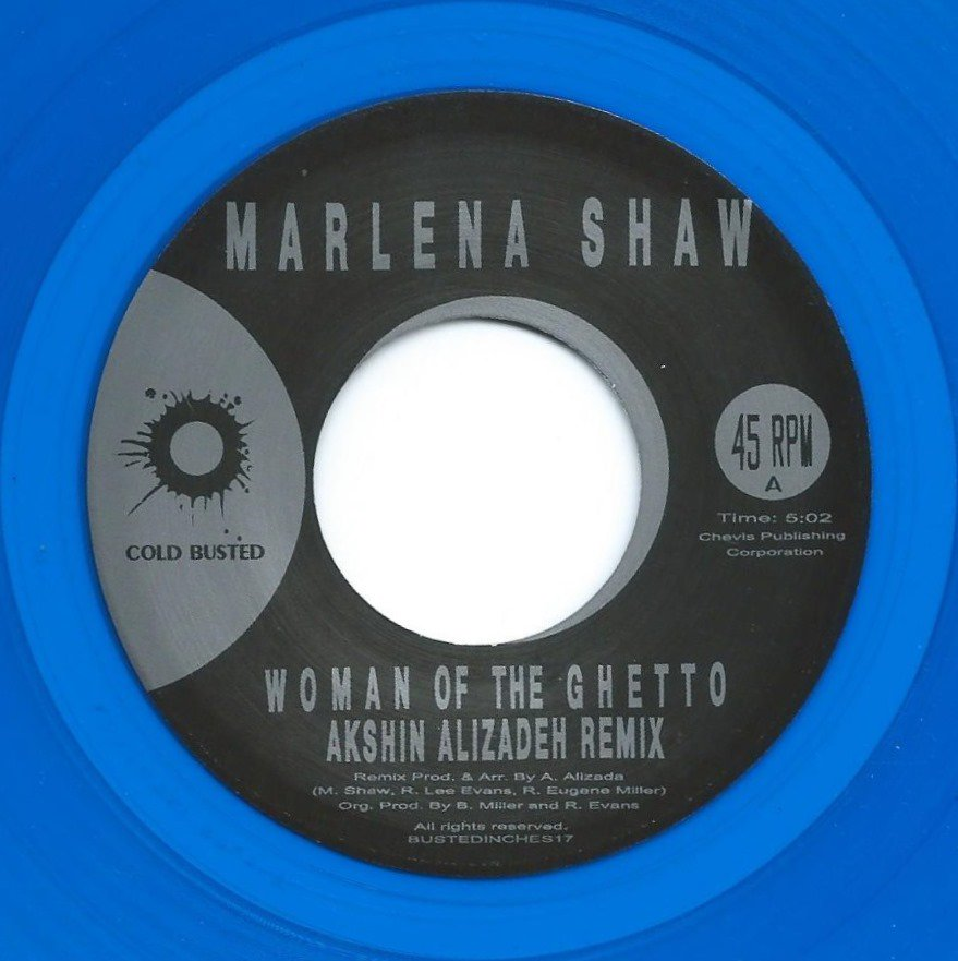 MARLENA SHAW ‎/ WOMAN OF THE GHETTO (AKSHIN ALIZADEH REMIX) (7