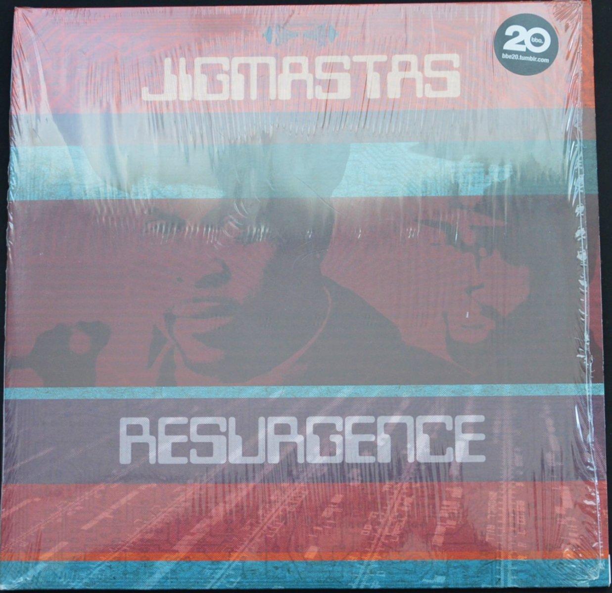 JIGMASTAS / RESURGENCE (2LP)
