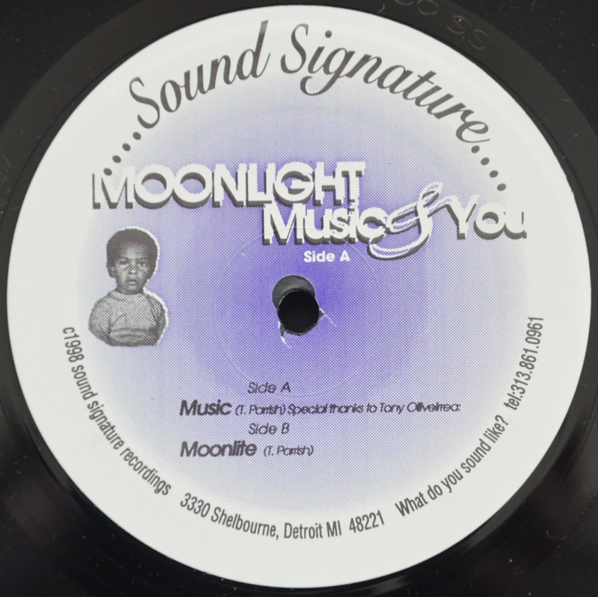 THEO PARRISH ‎/ MOONLIGHT MUSIC & YOU (12
