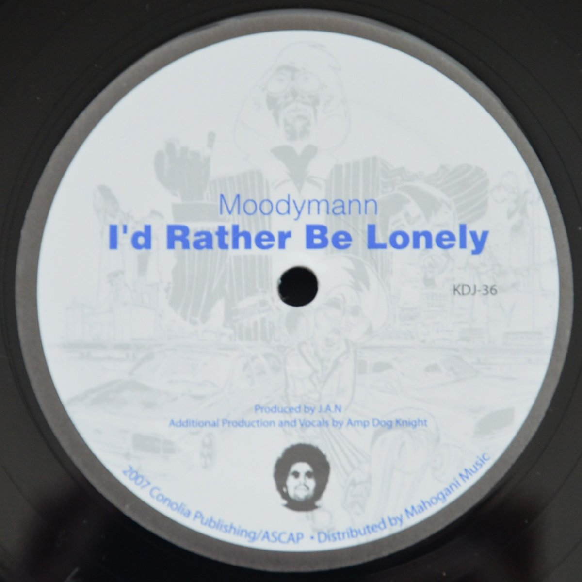 MOODYMANN ‎/ I'D RATHER BE LONELY (12