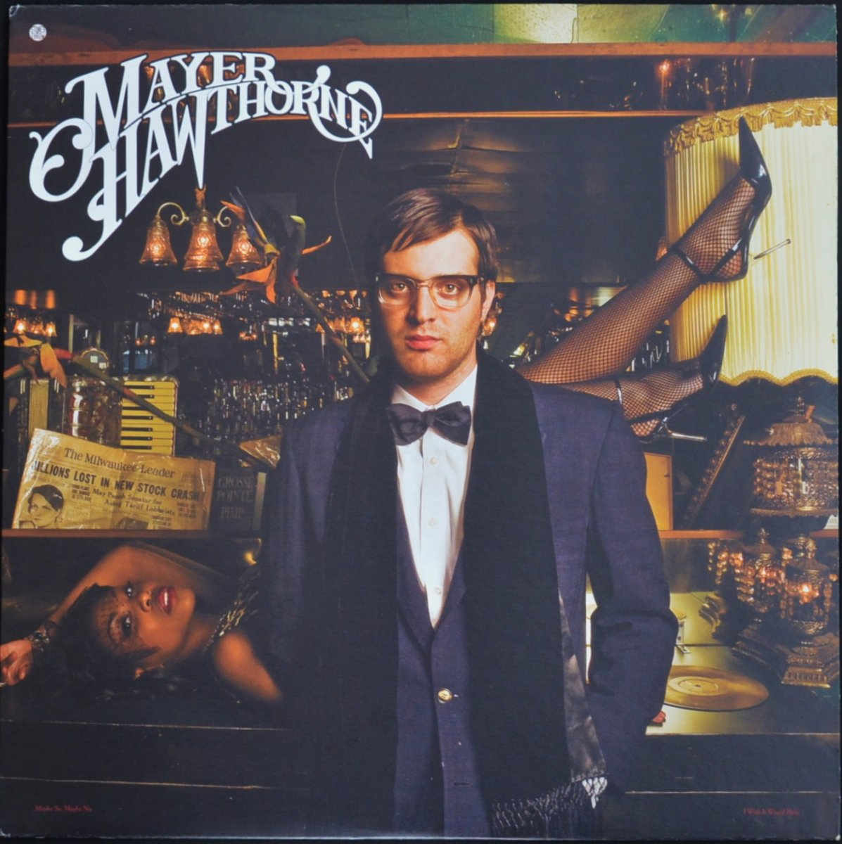 MAYER HAWTHORNE ‎/ MAYBE SO, MAYBE NO / I WISH IT WOULD RAIN (12