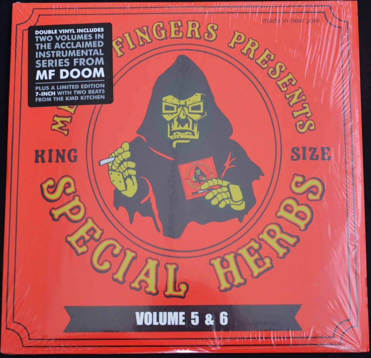 METAL FINGERS (MF DOOM) ‎/ SPECIAL HERBS VOLUME 5 & 6 (2LP×7