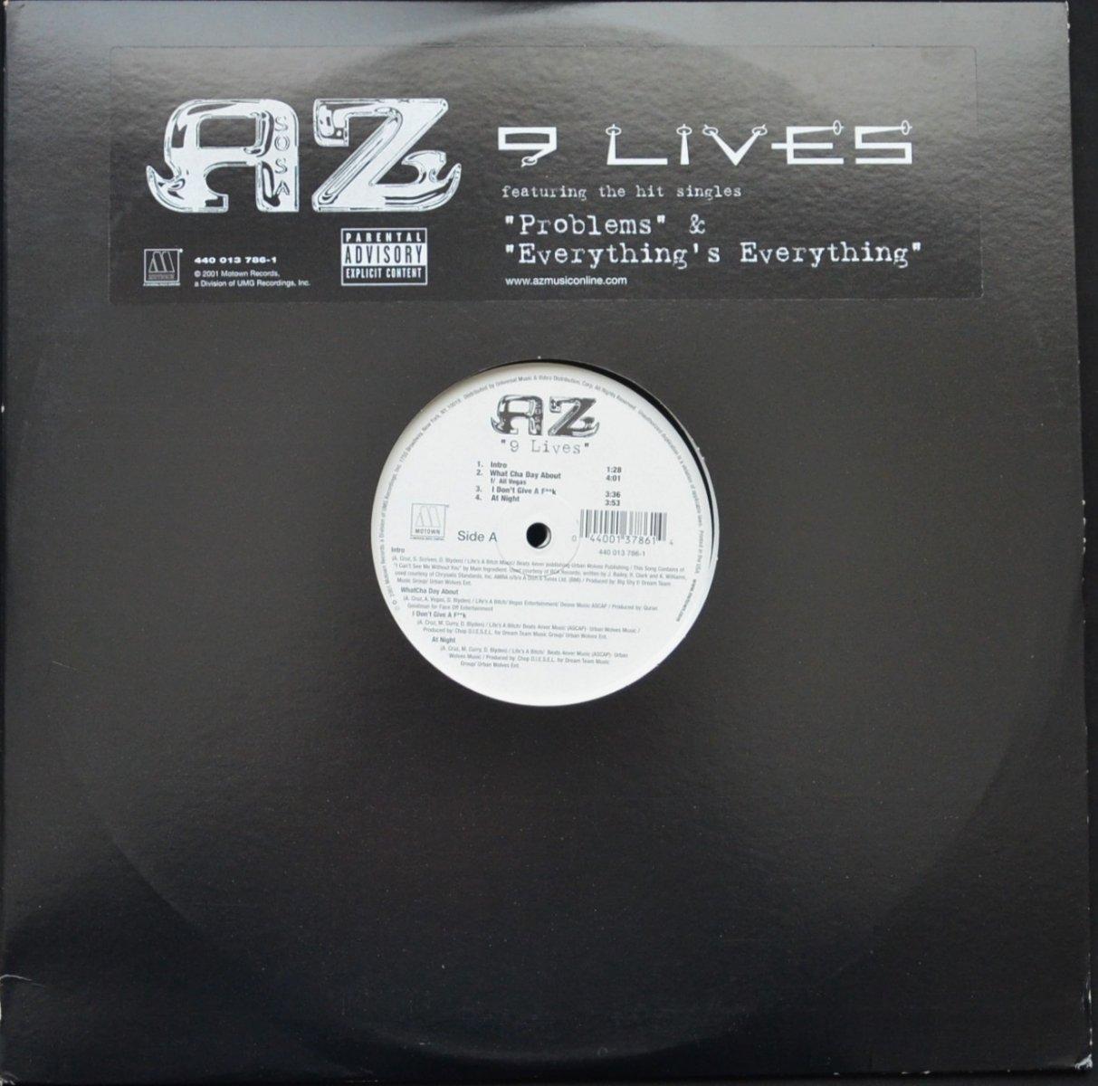 AZ / 9 LIVES (2LP)