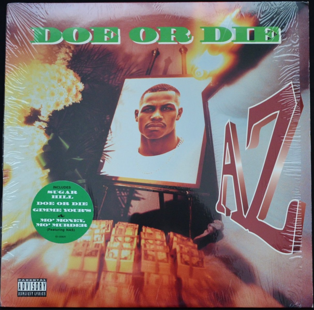 AZ ‎/ DOE OR DIE (1LP)