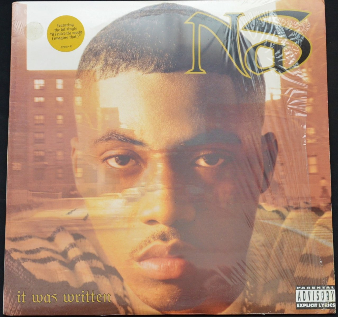 NAS ‎/ IT WAS WRITTEN (1LP)
