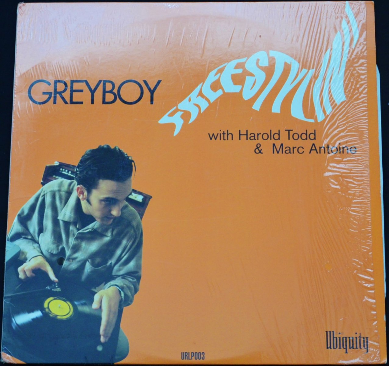 GREYBOY WITH HAROLD TODD & MARC ANTOINE ‎/ FREESTYLIN' (1LP)