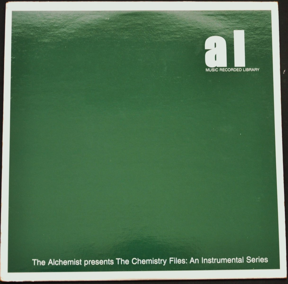 THE ALCHEMIST / THE CHEMISTRY FILES: AN INSTRUMENTAL SERIES (LP)
