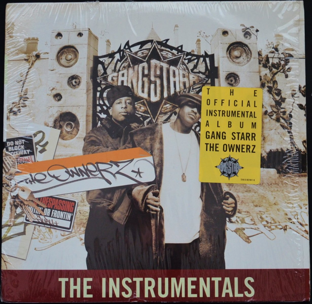 GANG STARR ‎/ THE OWNERZ (THE INSTRUMENTALS) (2LP)