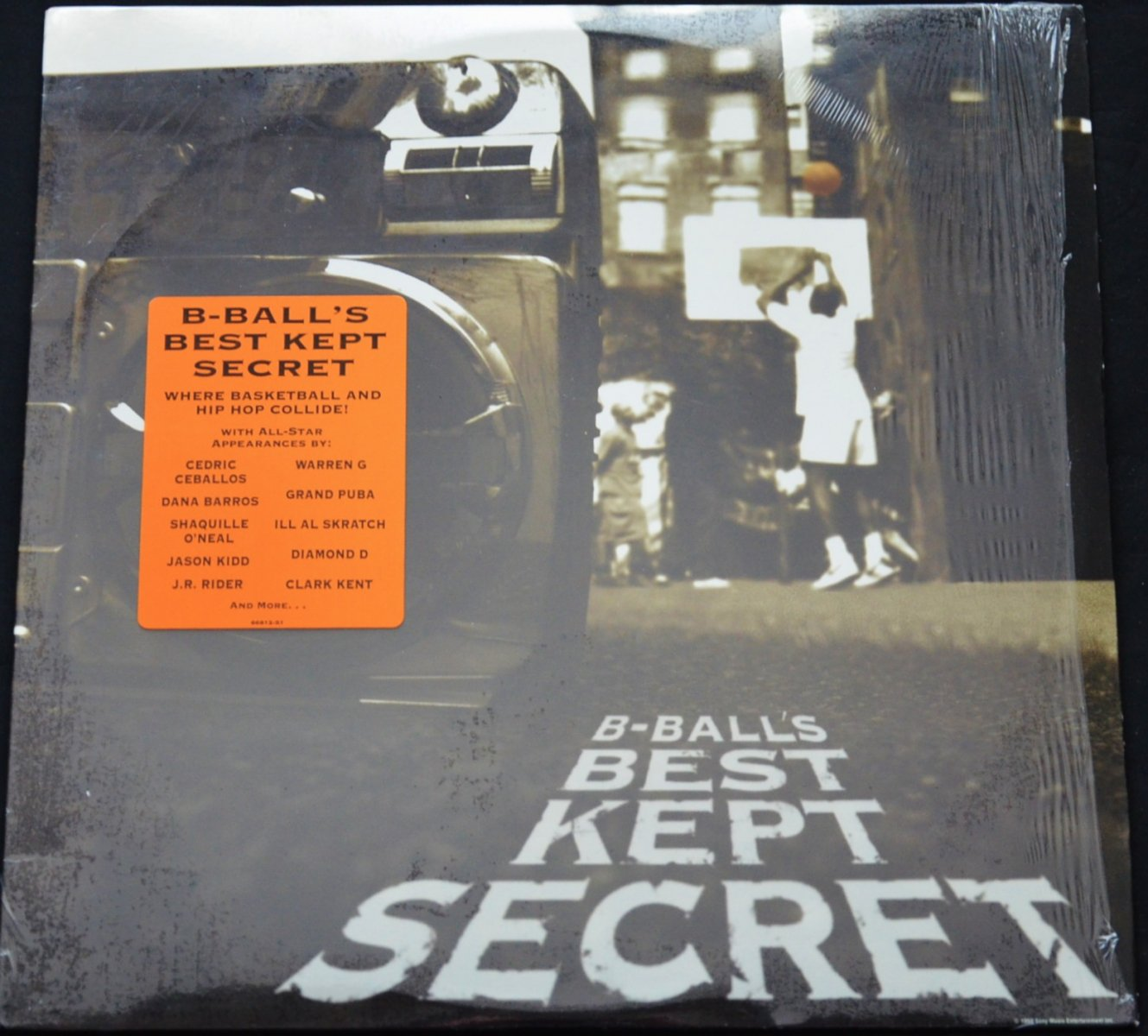 V.A. / B-BALL'S BEST KEPT SECRET (1LP)