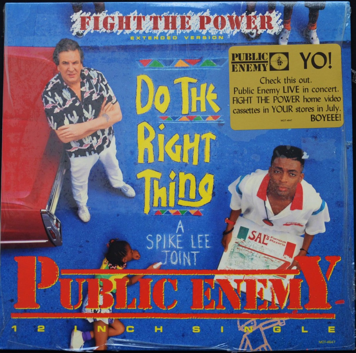 PUBLIC ENEMY ‎/ FIGHT THE POWER (EXTENDED VERSION) (12
