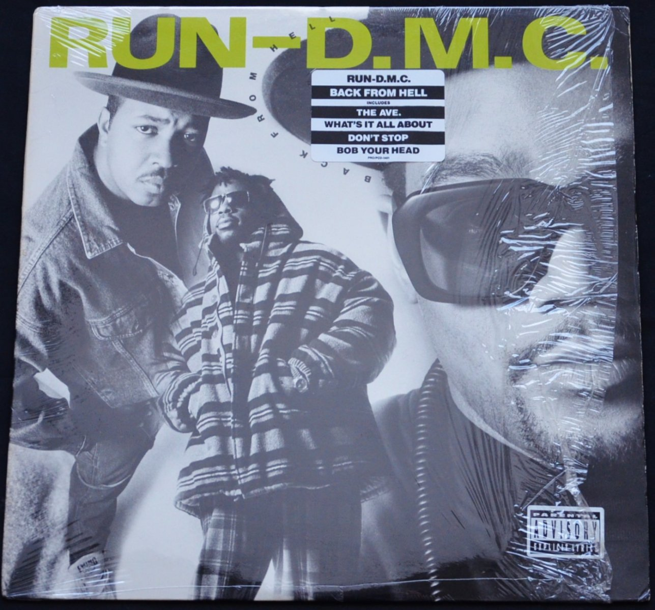 RUN-D.M.C. / BACK FROM HELL (1LP)