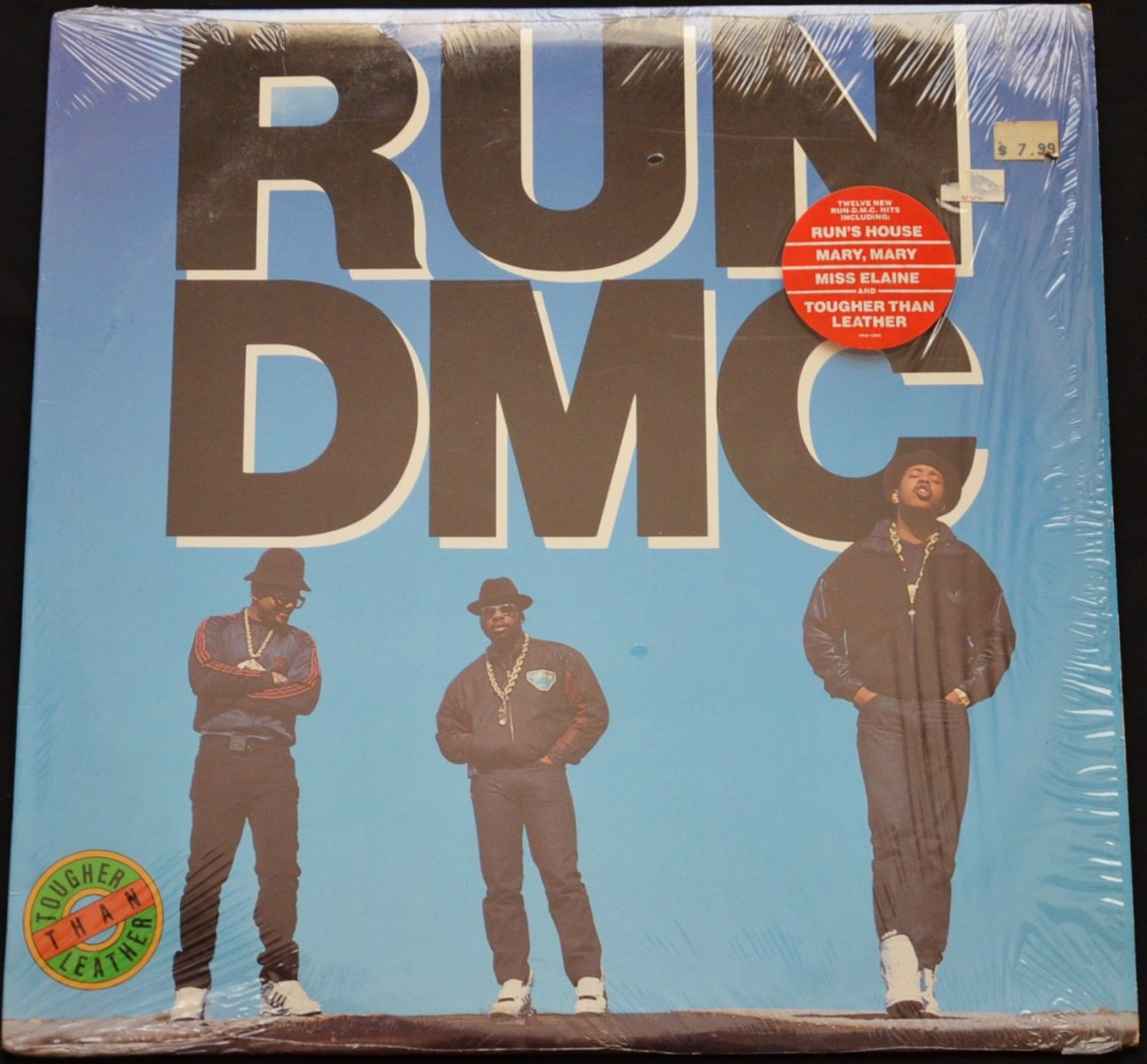 RUN DMC / TOUGHER THAN LEATHER (1LP)