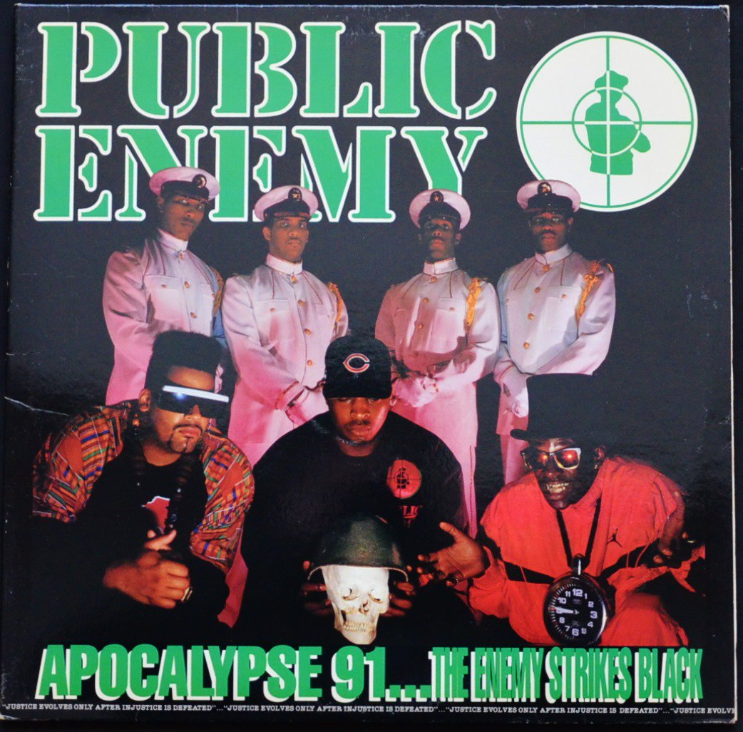PUBLIC ENEMY / APOCALYPSE 91... THE ENEMY STRIKES BLACK (2LP)