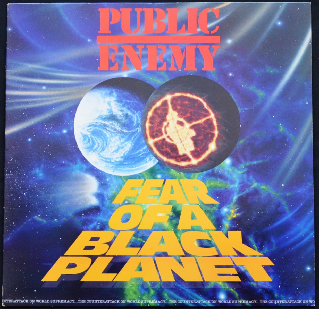 PUBLIC ENEMY / FEAR OF A BLACK PLANET (1LP)