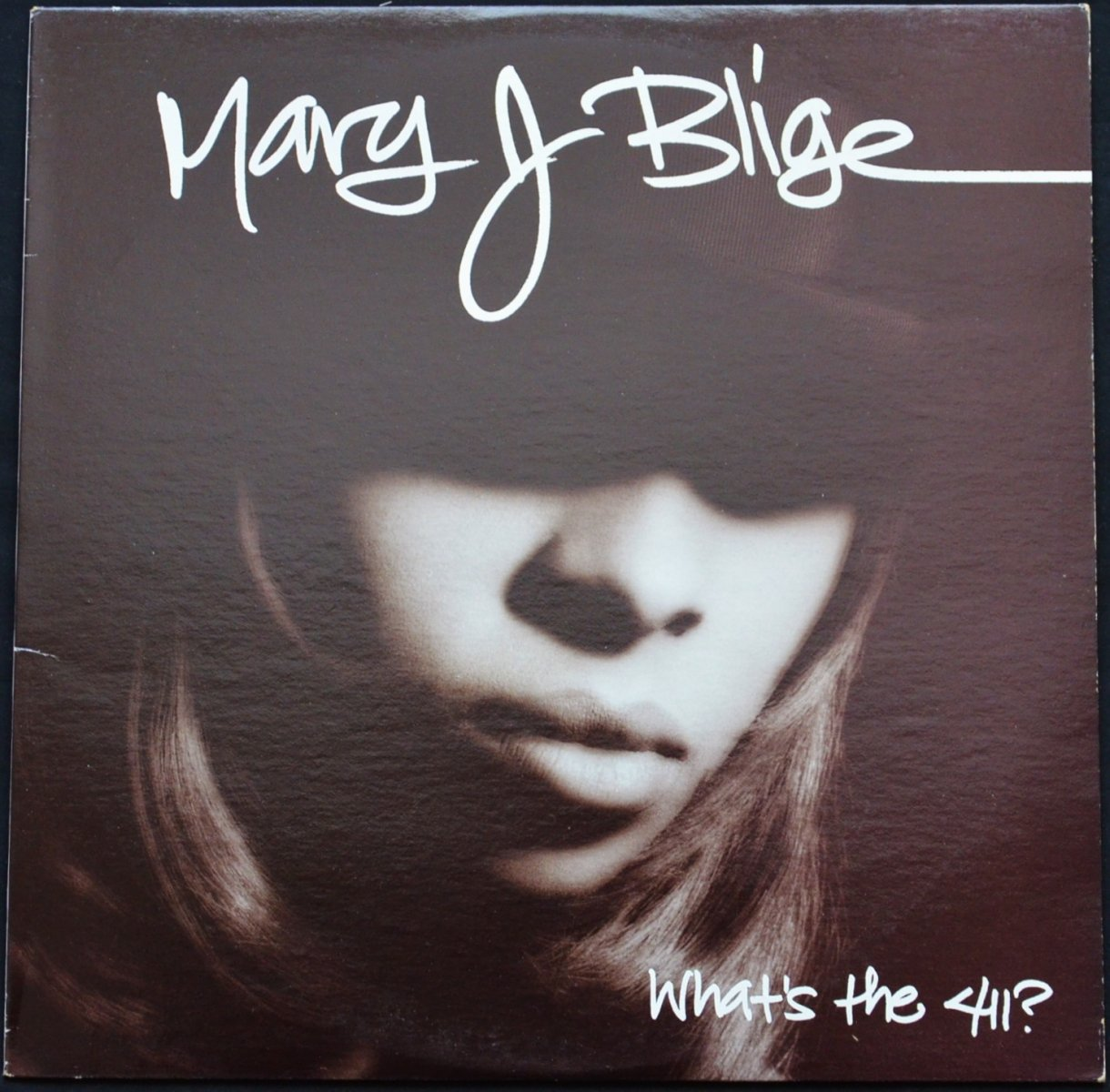 MARY J. BLIGE ‎/ WHAT'S THE 411? (1LP)