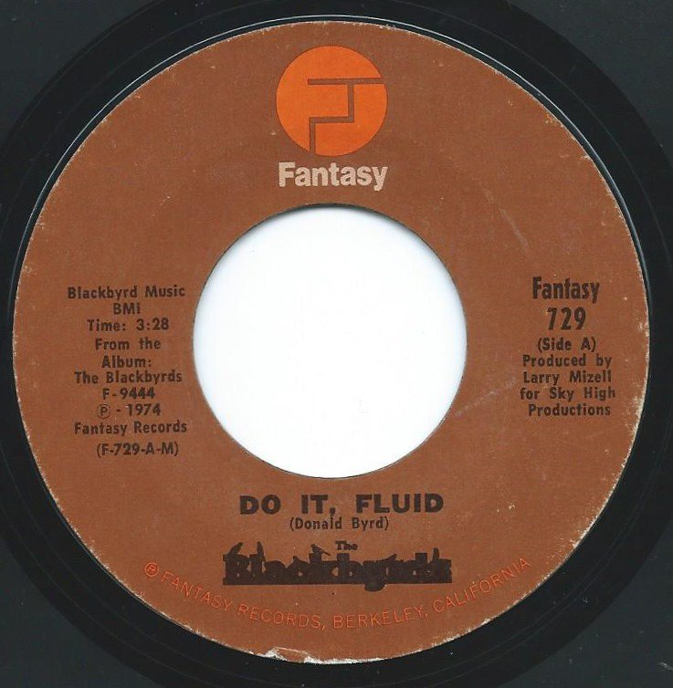 BLACKBYRDS / DO IT FLUID / SUMMER LOVE (7