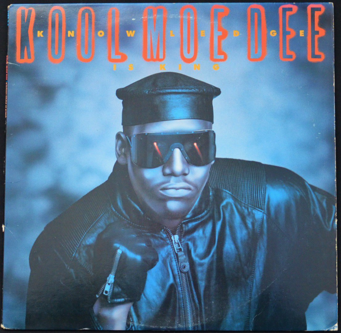 KOOL MOE DEE ‎/ KNOWLEDGE IS KING (1LP)