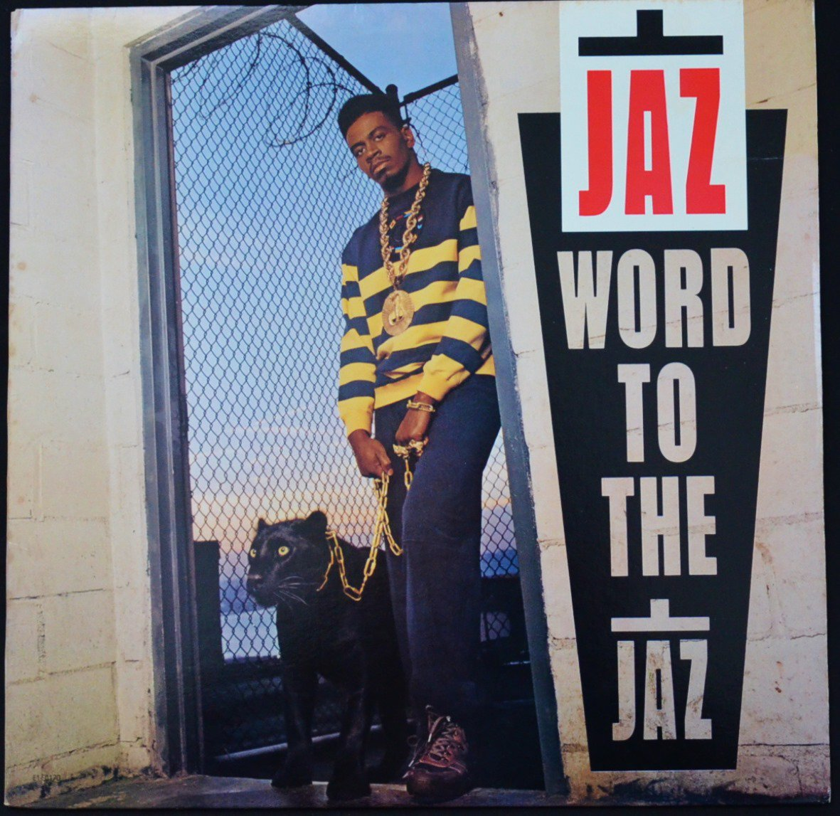 THE JAZ (BIG JAZ,JAZ-O) / WORD TO THE JAZ (1LP)