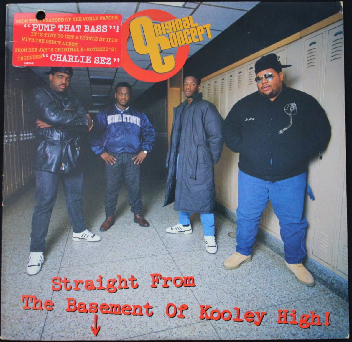ORIGINAL CONCEPT / STRAIGHT FROM THE BASEMENT OF KOOLEY HIGH! (1LP)