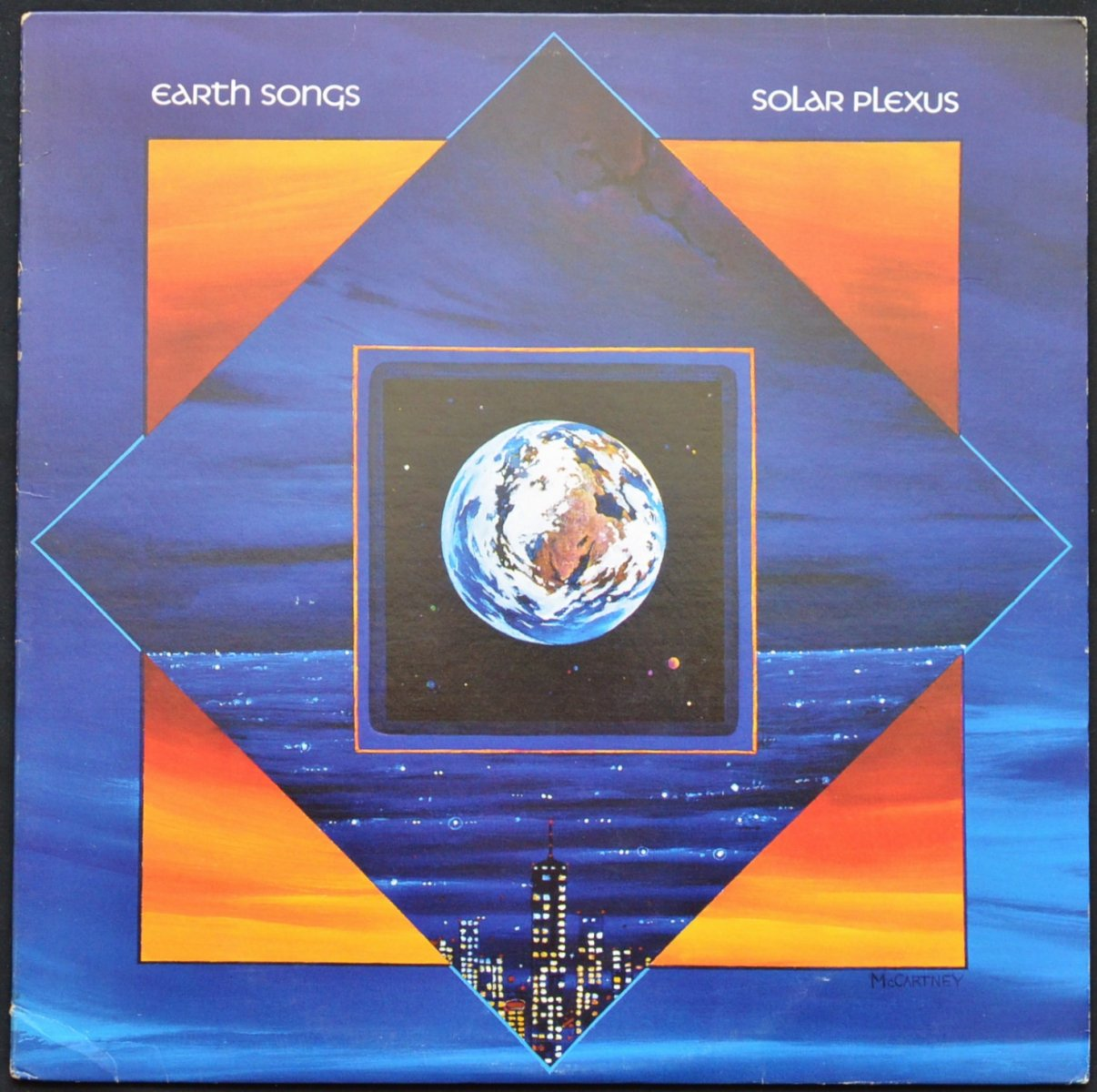 SOLAR PLEXUS / EARTH SONGS (LP)